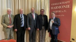 der neue Vorstand ab 09-2021 - Georg Girardet-Heinz Böhmer-Michael Staude-Michael Pommer-es fehlt Axel Schöpa-Ehrenvorsitzender Walter Christan Steinbach